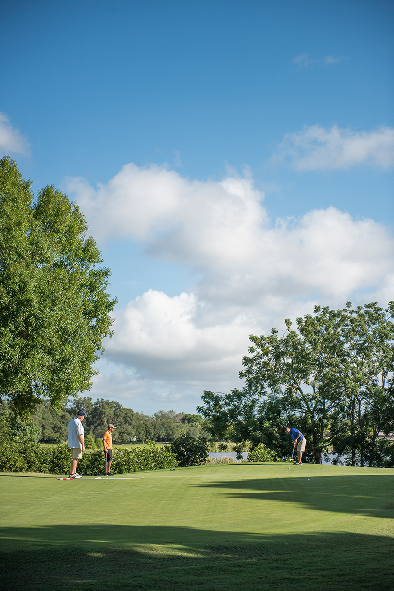 Central florida golf courses