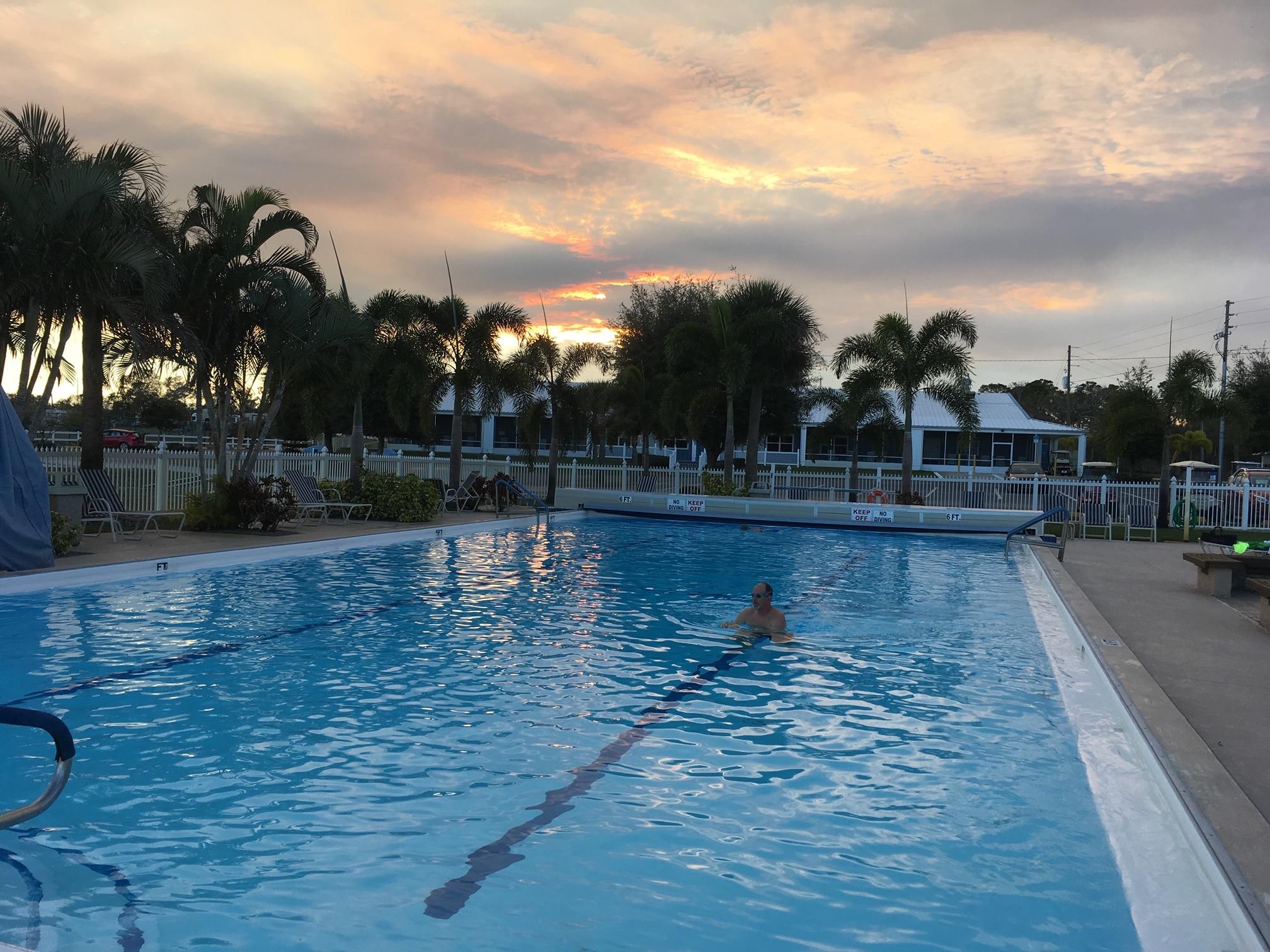 Camp Florida RV Resort at Sunset in Sebring, FL