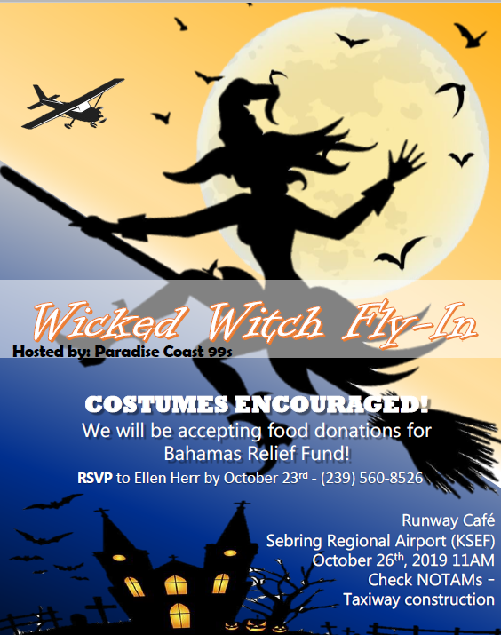 Wicked Witch Fly-In