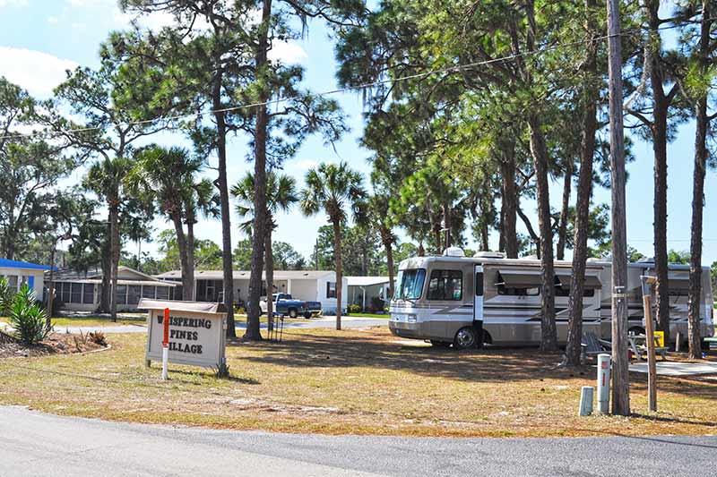 Whispering Pine Village RV Resort in Sebring, FL